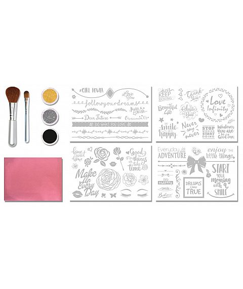 TATTOO SET GLITZA HOME - INSPIRATIONAL