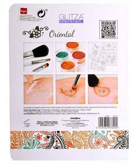 TATTOO SET GLITZA HOME - ORIENTAL